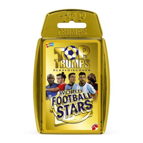 World Football Stars - Gold case - Top Trumps Specials