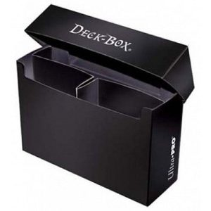 3 Compartment Oversized Black Deck Box