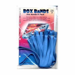 Box Bands: Large size (Pack of 6) BLUE