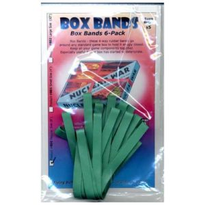 Box Bands: Regular size (Pack of 6) GREEN