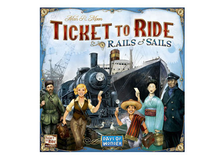 Days of Wonder Collection - Ticket to Ride Rails and Sails