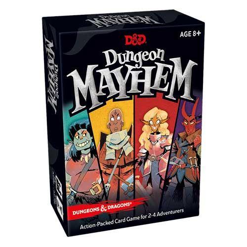 Dungeon Mayhem Card Game: Dungeons & Dragons (Ddn)
