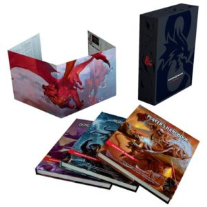 Dungeons & Dragons: Core Rulebook Gift Set (Ddn)