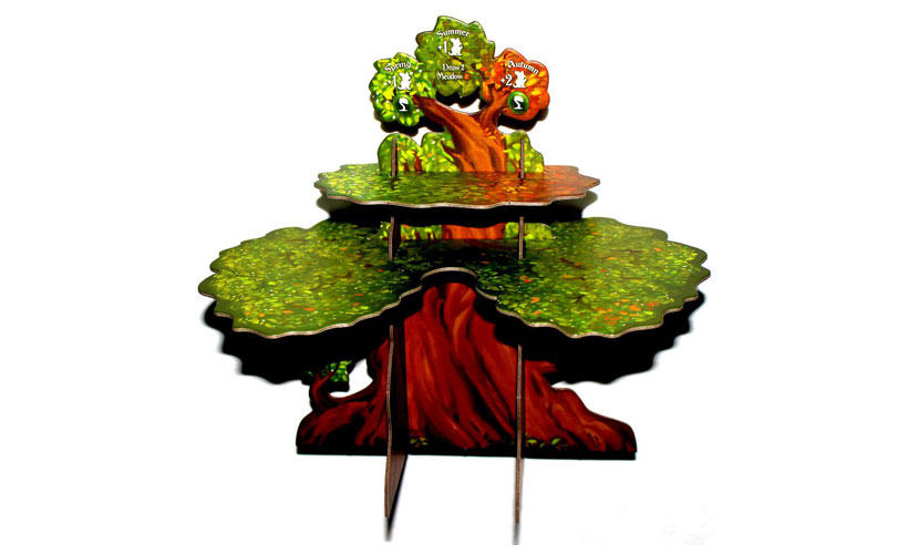 Everdell Review - Full Assembled Ever-Tree