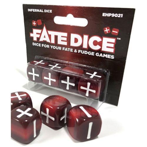 Fate Dice: Infernal Dice