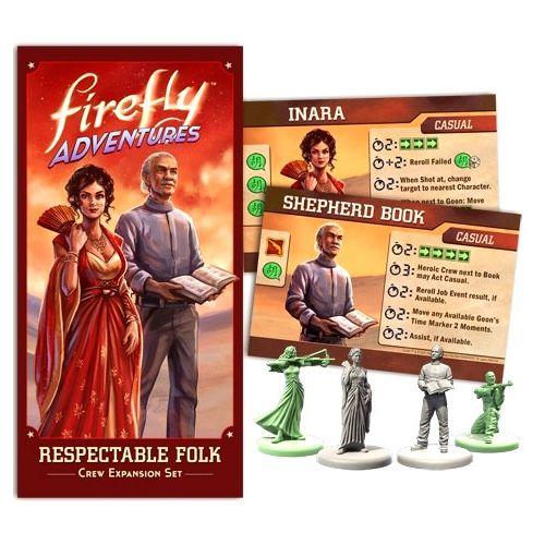 Firefly Adventures: Respectable Folk Exp (Inara and Shepherd Book)