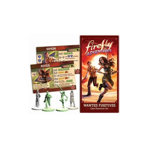 Firefly Adventures: Wanted Fugitives Exp (Simon and River)