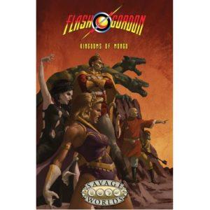 Flash Gordon Kingdoms Of Mongo Limited Edition Hardcover (Savage Worlds)