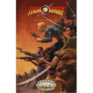 Flash Gordon Rpg Limited Edition Hardcover (Savage Worlds)