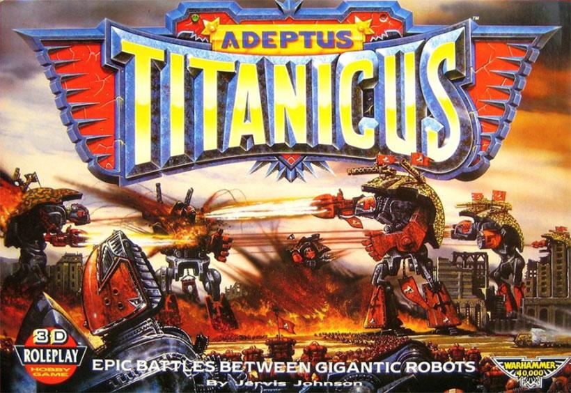 Games Workshop - Adeptus Titanicus