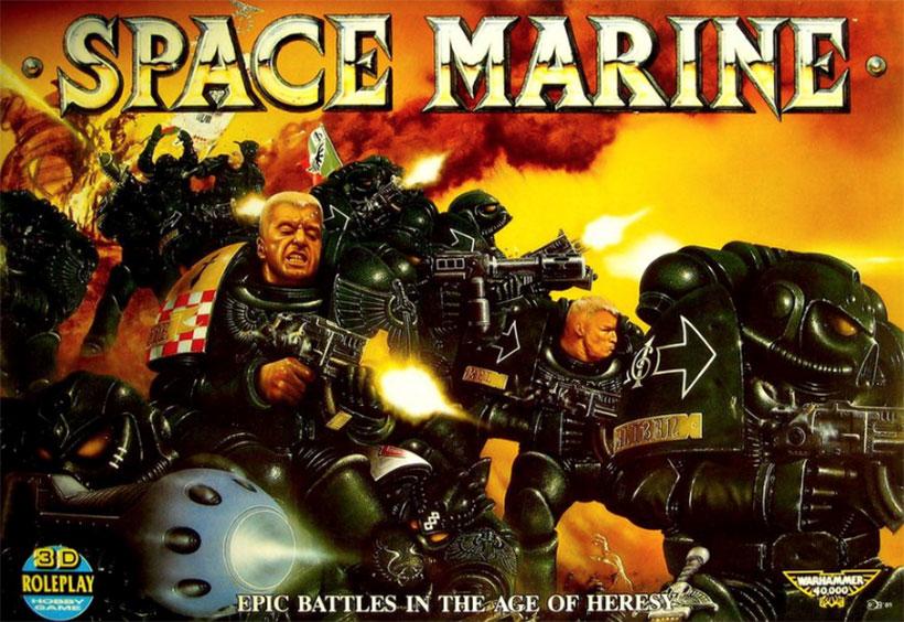 Games Workshop - Space MarineGames Workshop - Space Marine