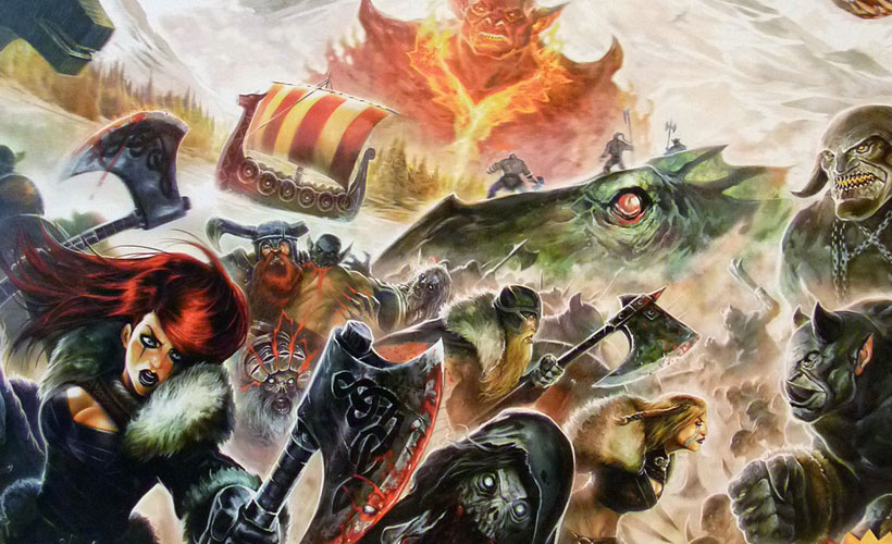 Games of the Month - Champions of Midgard