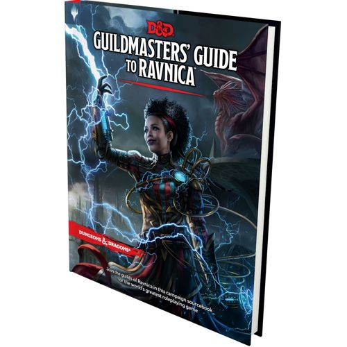 Guildmasters' Guide To Ravnica: Dungeons & Dragons (Ddn)