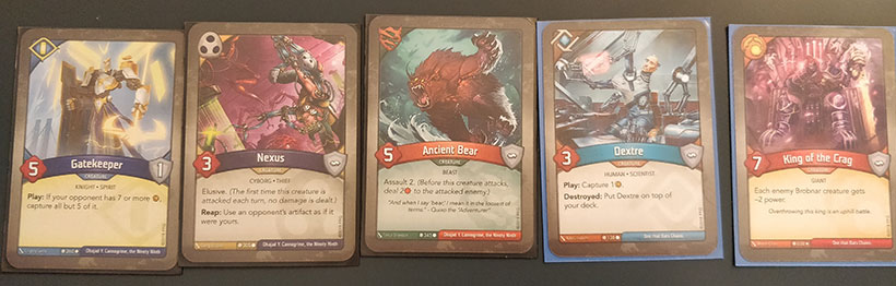 How to Play KeyForge - Creature Cards