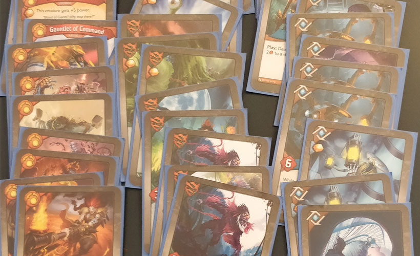 How to Play KeyForge - Deck of Cards