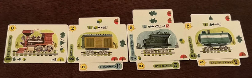 Isle of Trains Review - Playing Cards