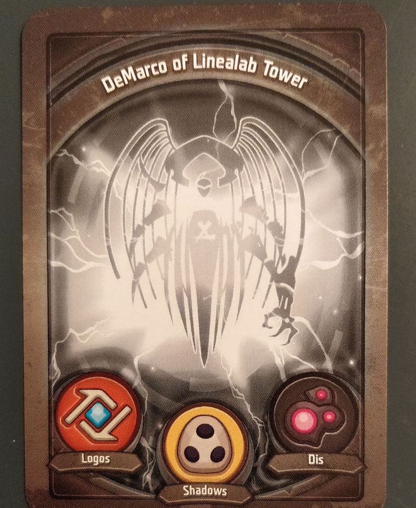 KeyForge Tournament - DeMarco of Linealab Tower