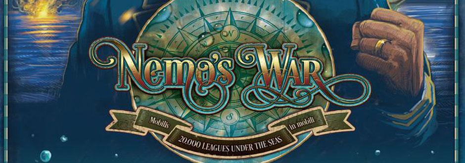 Nemo's War Review | Board Games | Zatu Games UK | Seek Your Adventure image