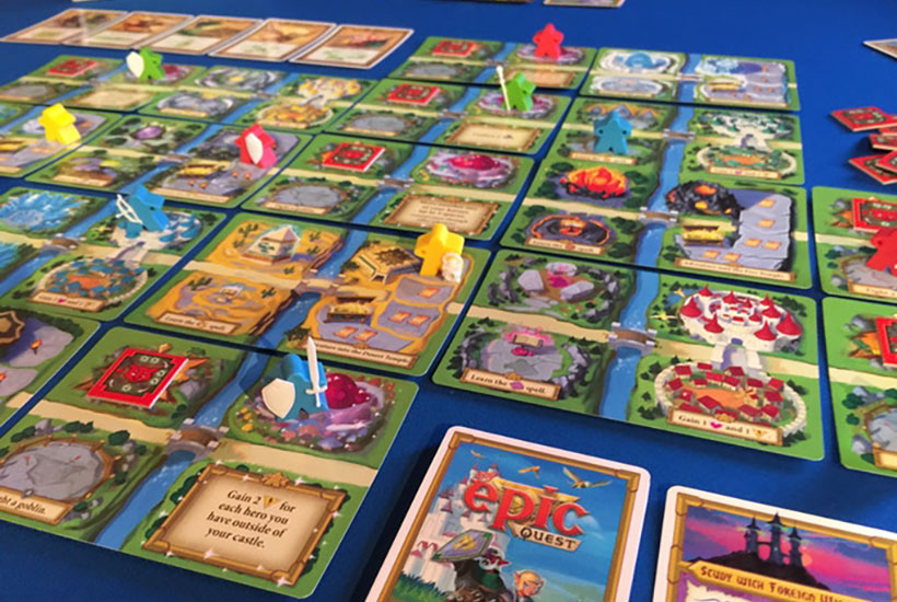 Playing Tiny Epic Quest