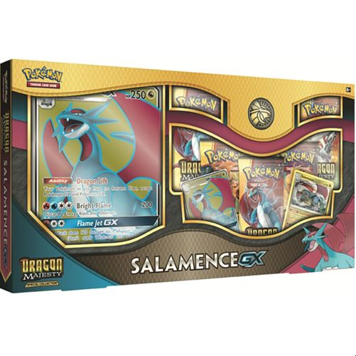 Pokemon Dragon Majesty Special Collection Salamence GX Online Code Card FAST! Verzamelingen