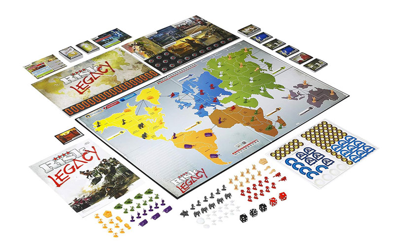 Risk Legacy Review - Game Components