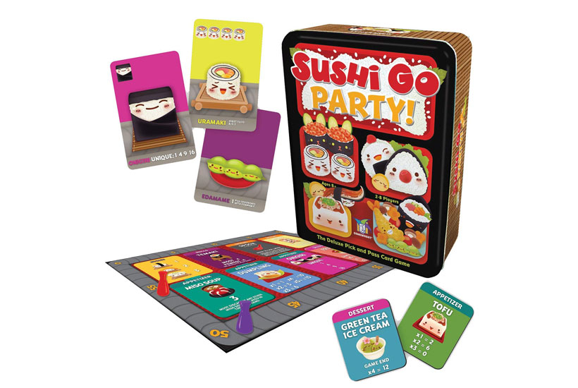 Sushi Go Party Review - Game Contents