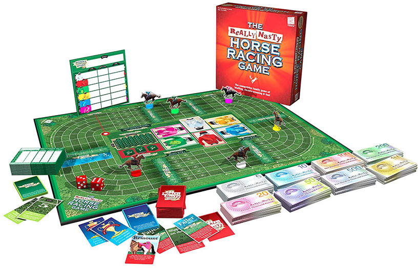The Really Nasty Horse Racing Game - Components