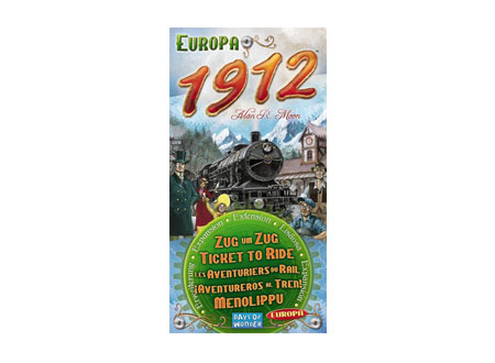 Ticket to Ride Series - Europe 1912 Expansion