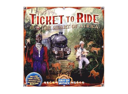 Ticket to Ride Series - Heart of Africa
