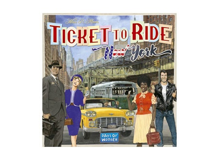 Ticket to Ride Series - New York