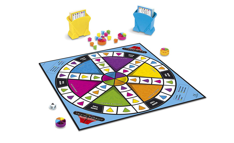 Trivial Pursuit Family Edition - Game Components
