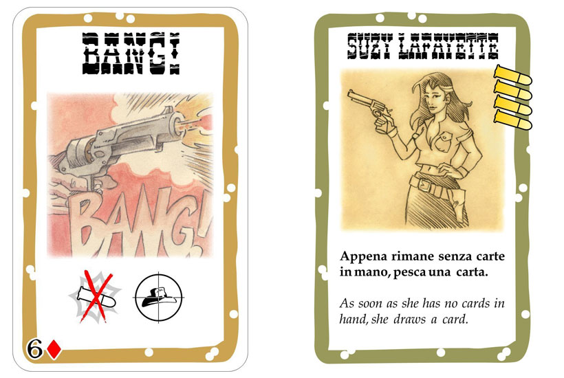 Bang! The Card Game Review - Cards