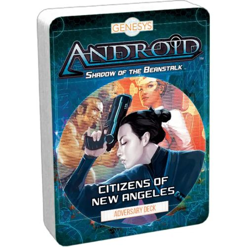 Citizens of New Angeles Adversary Deck: Genesys RPG