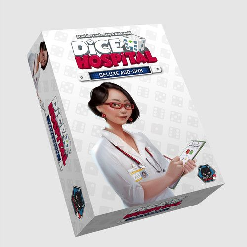 Dice Hospital Deluxe Add Ons Expansion