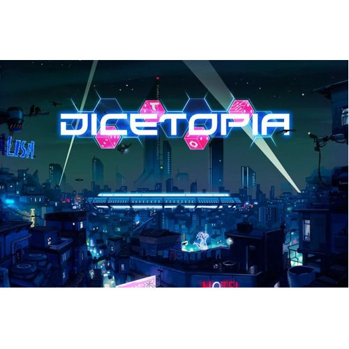 Dicetopia + Solo pack + Faction Pack + Meeple Pack