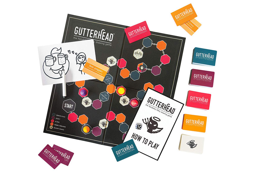 Gutterhead Review - Game Components