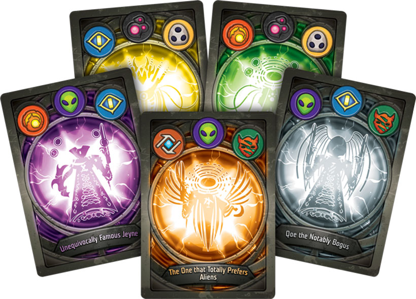 KeyForge Review - Card Designs