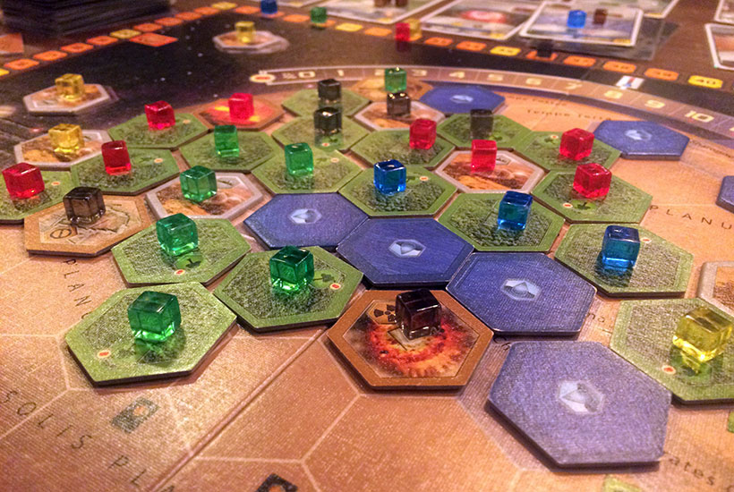 Playing Terraforming Mars Prelude