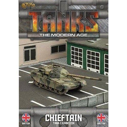 TANKS: The Modern Age British Chieftain/Stillbrew