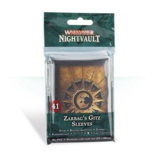 Warhammer Underworlds: Zarbag's Gitz Sleeves