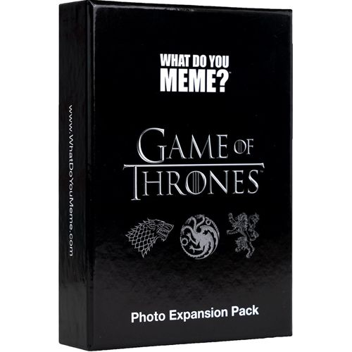 What Do You Meme? Game of Thrones Photo Expansion
