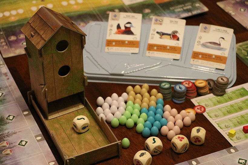 Wingspan Preview - Food and Dice Tower
