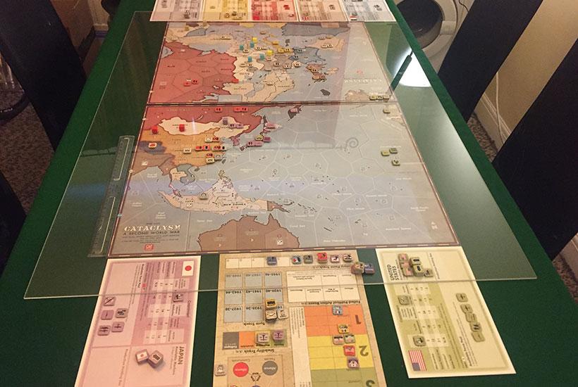 Cataclysm: A Second World War Review - Game Layout