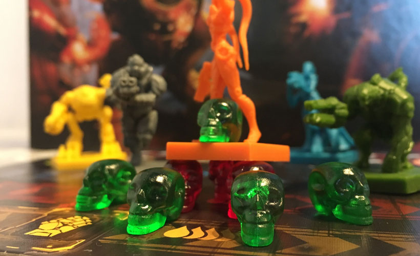 Component of the Year 2018 - Green Skulls in Adrenaline DLC