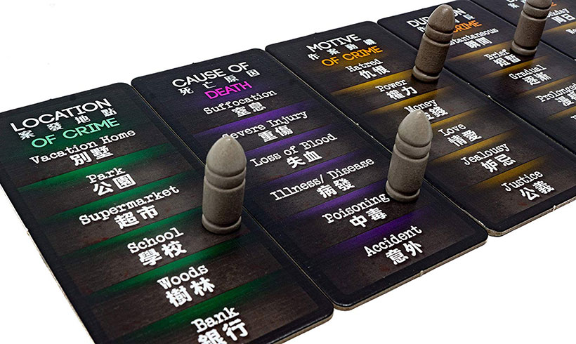 Deception: Murder in Hong Kong Review - Scene Tiles