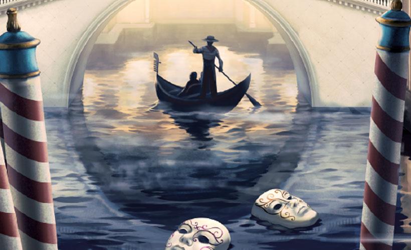 Deckscape: Heist in Venice Artwork