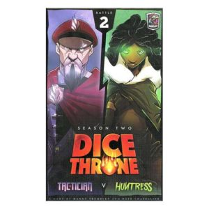 Dice Throne Season Two Box 2: Tactician vs Huntress