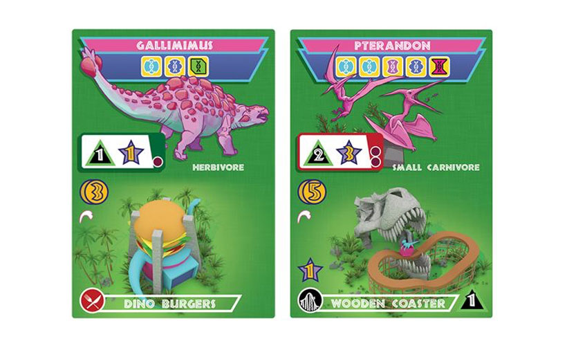 Duelosaur Island Review - Game Cards