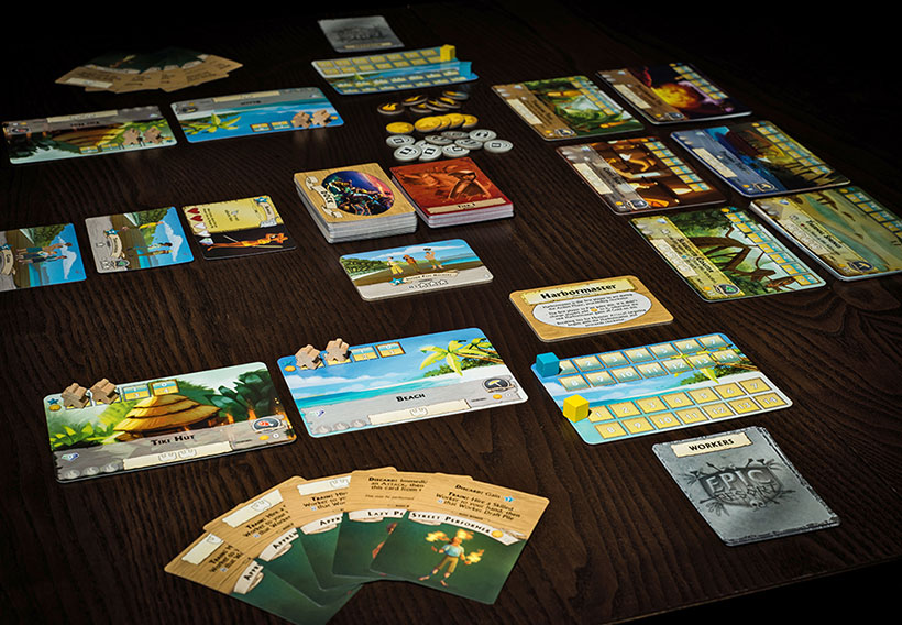 Epic Resort Review - Game Layout