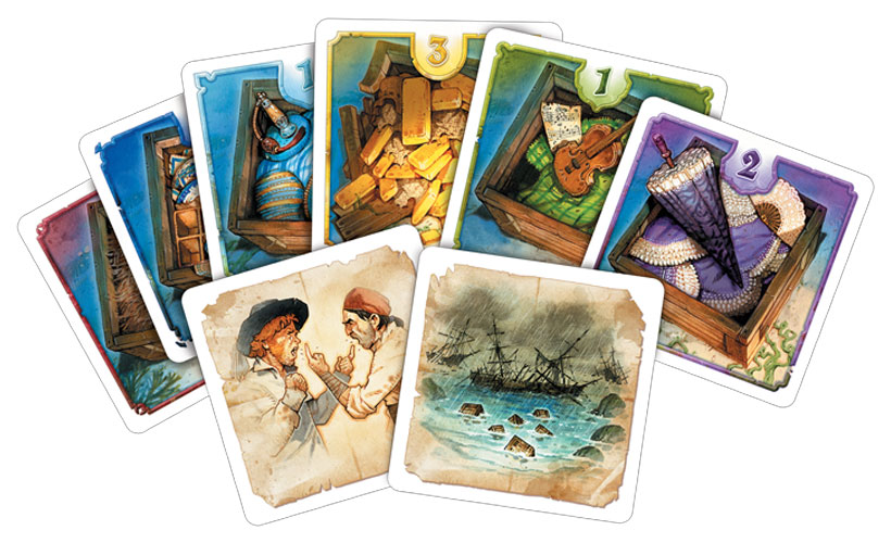 HMS Dolores Review - Game Cards